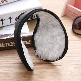 Wholesale-Hotsale Men' Women's Ear Muffs Winter Ear Warmers Plush Earwarmer Behind The Head Band 6X81