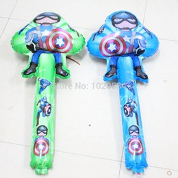 Wholesale Captain America foil balloons THE HULK super hero foil balloons many designs boys globos toy birthday gift
