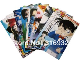 Wholesale C1 Detective Conan set Embossing Posters Wall Sticker Anime Fans Collection