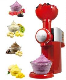 Wholesale 2015 Hot Summer Big Swirlio Frozen Fruit Dessert Maker Appetizing Ice cream Maker Home made Magic Snack Ice cream Machine
