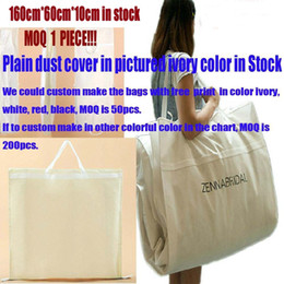 Wholesale New Arrival Big Ivory Bridal Wedding Gowns Garment Dust Cover Bags Quality Nonwoven Fabric CM cm with Logo Print Service if big qty