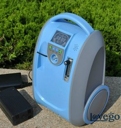 Wholesale Lithium DC Battery Oxygen Concentrator for Medical Healthcare Home Car Travel Use Mini Portable O2 Generator Free shiping