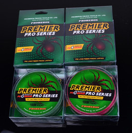 PREMIER PRO Series Braid Fishing Line 4 Strand Spectra Ocean Rock lines 100m PE wire Fiber From Japan 18lb~100lb