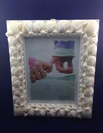 """5x7"""" Luxury Natural White Seashell Picture Photo Frames Good Ideal for Wedding Gifts to Your Friends"""