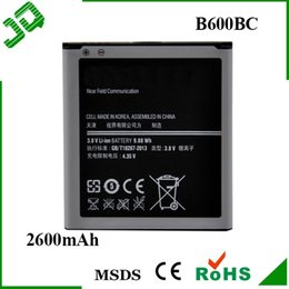 Wholesale S4 B600BC Replacement Mobile Cell Phone Battery for Samsung galaxy S4 i9500 i9505 Batteries Batteria Bateria