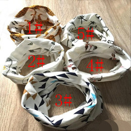 Wholesale 5 Colors Tiger Panda Winter Warm Ring Neckerchief Children Baby Boy Girl Scarves Toddler Kids Scarf Infants O Ring Child Neck Scarves