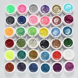 36 Pots Maquillage Professionnel 36 Couleurs Nail Art UV Gel Poudre Colorée Poudre Gel d'Ongles Excellent Gel Vernis à Ongles glitter nails pots deals à partir de ongles glitter pots fournisseurs