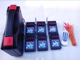 Promotion les types d'incendie 2015 Nouveaux produits 24 Festival du Canal Fireworks étanches Firing système d'allumage Radio feu taille de type affichage électronique à distance de fil