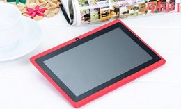 Cheaper phabets 7inch Quad core tablet android Q88 allwinner 512M 4GB bluetooth HD 1024*600 dual camera wifi 1.2GHZ