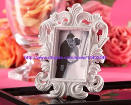 Wholesale 500pcs Black Or White Color Ornate Baroque Style Photo Picture Frame Wedding Party Table Wall Card Holder Gift