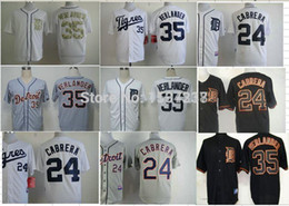 Wholesale 2016 New Detroit Tigers Jerseys Cheap Miguel Cabrera Jersey Justin Verlander Jersey Authentic Embroidery Cool Base Jersey