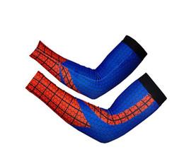 red spiderman Arm Sleeve Football Basketball Baseball CrossFit Size Large