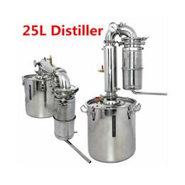 Wholesale 25L Distiller Bar Household equipment wine limbeck distilled water baijiu large capacity vodka maker brew alcohol whisky