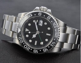 Luxury Man Watch Fashion Watch 40mm Stainless Steel Bracelet Sandwich Style Ceramic Bezel Automatic Movement Men's Wristwatch