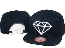 Wholesale 2016 Hot Sale Diamond Cap Baseball Hip Hop Snapback Sport Hat For Men Women Snap Back Flat