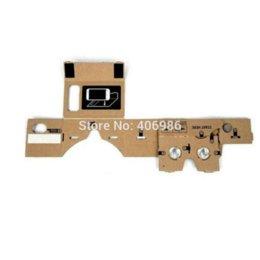 Google Cardboard Virtual Reality Mobile Phone Glasses For 3D Glasses FZ1053 glasses titanium glasses glasses