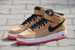buy online nike air force cork sneakers