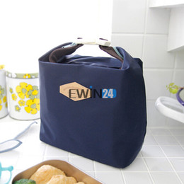 Wholesale Thermal Lunch Bag For Women Kids Insulated Cooler Waterproof Picnic Tote Storage Pouch Bag Colors New