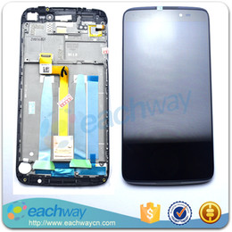 Wholesale-Original LCD For Alcatel One Touch Idol 3 6045 OT6045 LCD Display Touch Screen Assembly With Frame Replacement