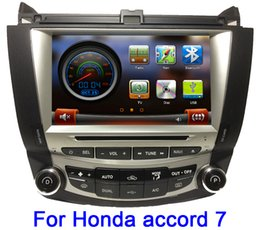 Wholesale IN STOCK quot Car DVD Player For Honda Accord auto stereo GPS Navi Bluetooth TV IPOD Radio RDS Free GPS map