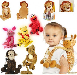 2 IN 1 Harness buddy Kid Keeper Baby Carrier Animal Baby Walker Stroller Backpack baby Toy Goldbug Backpack Mix Order Free Shipping