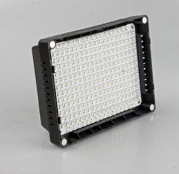 New 260 LED Panel Video Camera Light Lamp for Canon Nikon DSLR Camera lamp touch