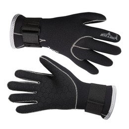 Wholesale 3mm Neoprene Diving Gloves High Quality Non slip adhesive professional diving gloves for Swimming Keep Warm Diving Equipment