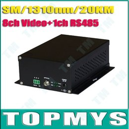 Wholesale ch Video ch RS485 for PTZ Multiplexer Over Fiber Optic Cable Transmitter Receiver TM OT483