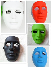 50pcs new 5 designs full face masks Halloween Masks Jabbawockeez mask festive party masquerade masks women men masquerade masks D385
