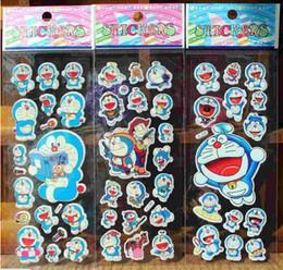 stickers for kids Doraemon stickers kids stickers Japanese cartoon stickers blue robot cat children puffy stickers kids rewards kids gift