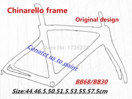Wholesale 2016 carbon road frame T1000 black red carbon road bike frame frameset glossy finish Carbon fiber bicycle frame BB68 BB30 complete road bike