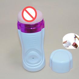 Male Masturbators Cup Pussy Vacuum Suck Penis Sex Toys Artificial Vagina Adult Product for Men