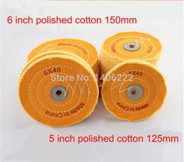 Wholesale Buffing Wheels Cotton Buff Mops Polishing Buffing wheels x40 x40 size order lt no track
