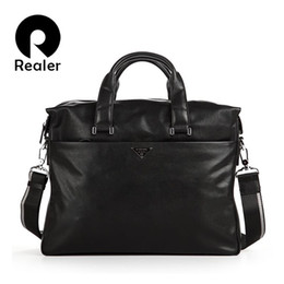 New men bag genuine leather business briefcase men messenger bags luxury brand famous designer handbags high quality for male