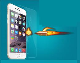 Pour iPhone 5 6 6S 6S Plus Cell Phone Protecteur d'écran en verre trempé 0.33 2.5D Film de protection Livraison gratuite à partir de protection téléphone cellulaire fournisseurs