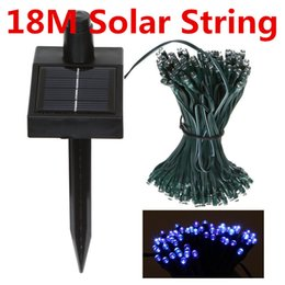Solar String Fairy Lights 18m 100 LED Strings Waterproof Christmas Garden Home LED Lighting Indoor Outdoor Light