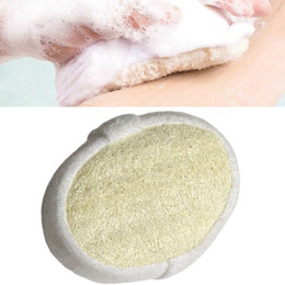 Wholesale Full Body Massage Loofah Luffa Bath Shower Sponge Bath Shower Brush Glove Effective Exfoliator Scrubber WA9