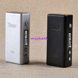 Cloupor gt en Ligne-1pcs Cloupor GT 80W Mod VV / VW / TC Mode Box Mod Dual 18650 Batterie Contrôle de température intelligent Mod Cloupor GT 80W Pré-commande