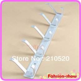Wholesale W110 Home Clothes Racks Space Aluminum Coat Hanger With Hooks For Bedroom Washroom