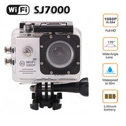 Original Digital Sport Action camera SJ7000 wIfi 2.0 inch LCD action plus camera Waterproof 30M HD DVR Sport Mini DV camera
