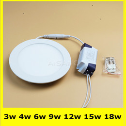 3w Ceiling Led Light Recessed Round Downlight Epistar SMD2835 AC85-265V High Brightness Lamp Living Room BedRoom