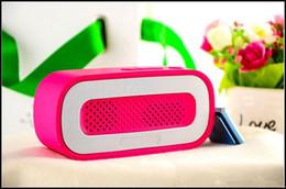 Promotion boîte de haut-parleur de radio A23 Bluetooth Mini haut-parleur portatif Hauts-parleurs sans fil Subwoofer HiFi Soutenez Radio FM stéréo Carte TF lecteur de musique Sound Box