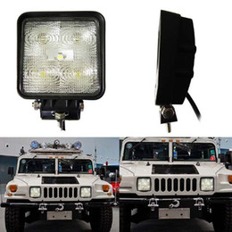 Wholesale 2PCS lot 1150lm 15W LED Work Light IP67 12V 24V 5LED bulbs Flood Off road 4WD SUV Truck UTE Driving Work Lamp