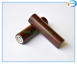 Wholesale 100 authentic LG Chem LGDHHG21865 mAh a v li ion rechargeable battery HG2 mAh high power cell for box mod