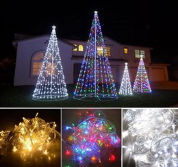 Wholesale LED String Light Xmas Christmas Power String Fairy Wedding Light Party Lamp 10M 100 LED