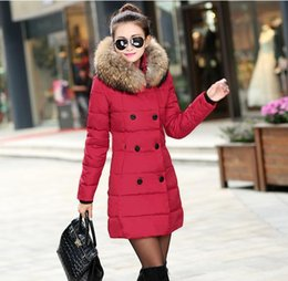 Wholesale Womens Down Coat New Winter Warm With Belt Butoon Cardiagn Clothing Down Parkas With