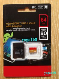 Wholesale 128 GB Class10 Pro PLUS Micro SD TF Card MicroSDXC UHS HD Video SD Memory Card for Samsung Galaxy Note Phones Tablets