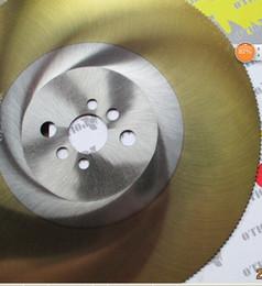 apol 9 inch circular saw blades 250*1.2*32mm HSS-M42 high-speed steel saw blades cutting stainless steel cutter saw golden