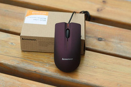 Wholesale manufacturer Lenovo M20 desktop notebook wired mouse USB Universal Box Original Value