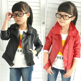 Sell Designer Clothes Online Hot selling PU Jacket girl